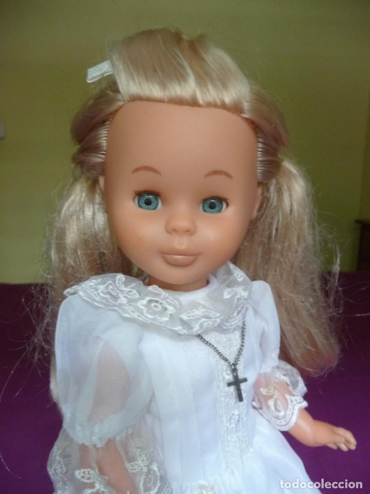 Muñecas Nancy y Lucas: Nancy Famosa comunion rubia con ojos azules vestida y calzada - Foto 12 - 180016196