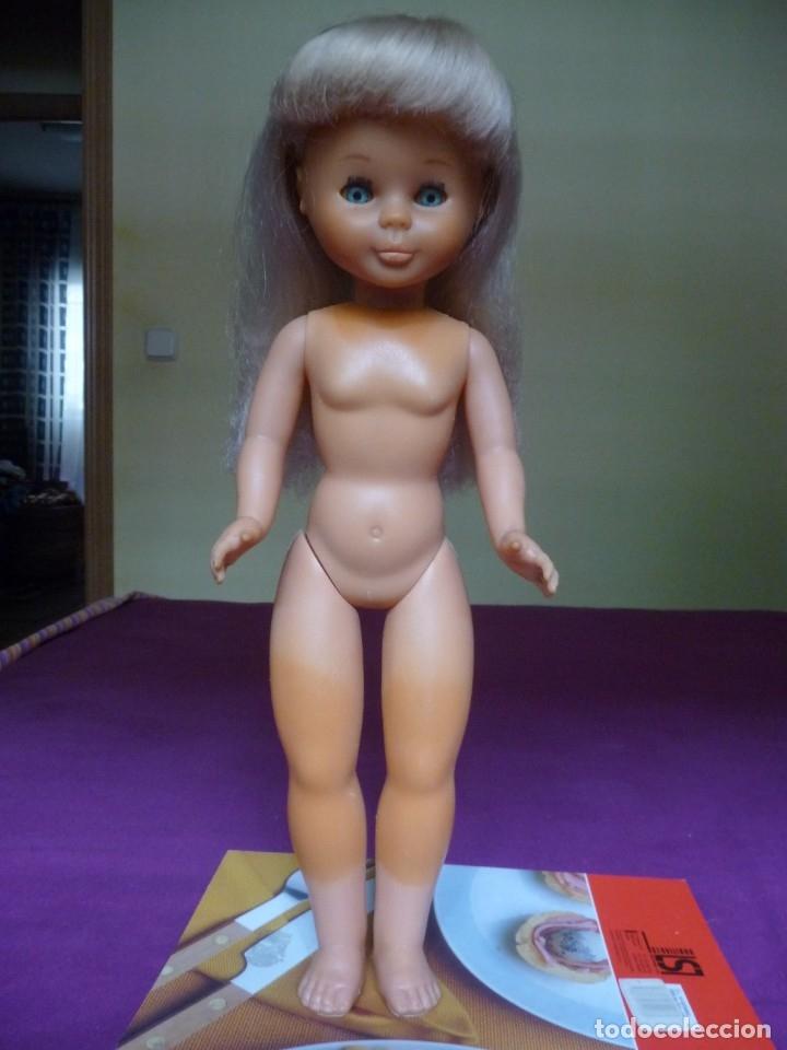 Muñecas Nancy y Lucas: Nancy Famosa rubia con flequillo y ojos azules años 80 90 - Foto 3 - 180016991