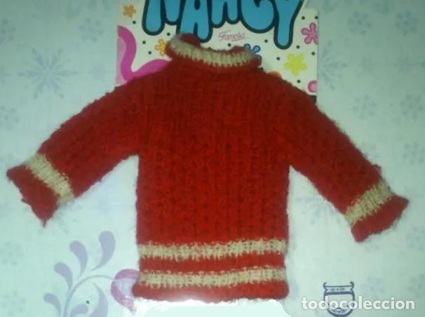 JERSEY DE NANCY DEL CONJUNTO ESQUIANDO DE FAMOSA - 1974 (Juguetes - Muñeca Española Moderna - Nancy y Lucas, Vestidos y Accesorios)
