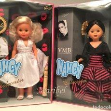 Muñecas Nancy y Lucas: LOTE .-NANCY VICKY MARTIN BERROCAL Y NANCY MARILYN NUEVAS Y PRECINTADAS EN SU CAJA A ESTRENAR. Lote 180281180