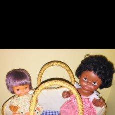 Muñecas Nancy y Lucas: NANCY MOISES CESTA CAPAZO PARA MUÑECA AÑOS 60 ORIGINAL RARO. Lote 180286112
