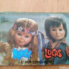 Muñecas Nancy y Lucas: CATALOGO DE NANCY. Lote 180325830