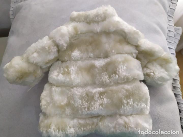 Muñecas Nancy y Lucas: Abrigo nancy vison blanco original etiqueta famosa 56 - Foto 2 - 180394018