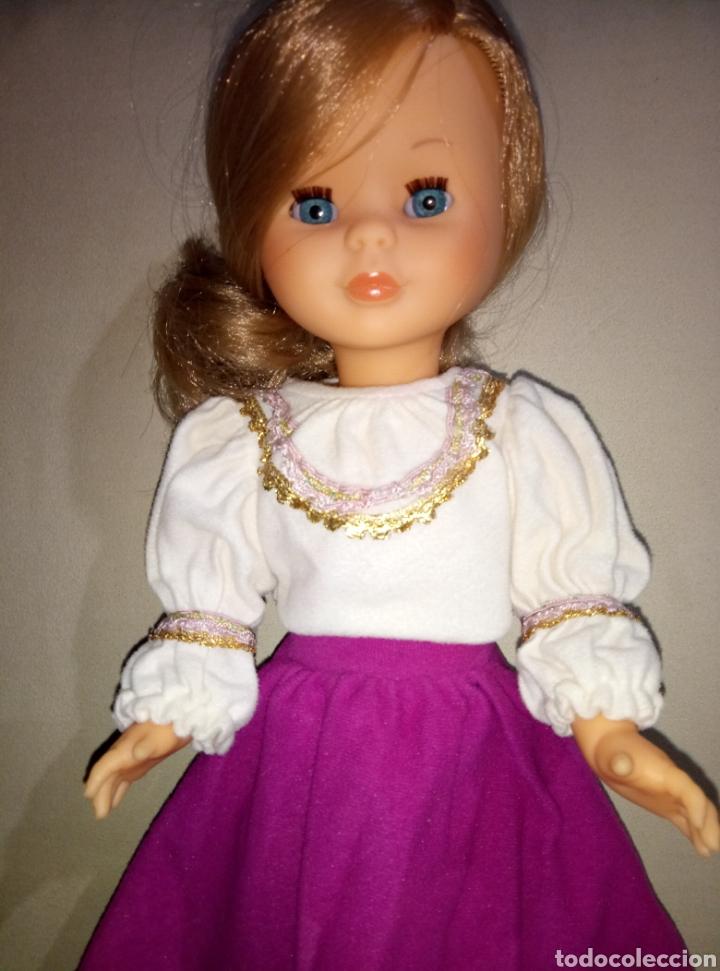Muñecas Nancy y Lucas: Conjunto Gran Fantasía Nancy años 70 etiqueta n 13 - Foto 2 - 181207211