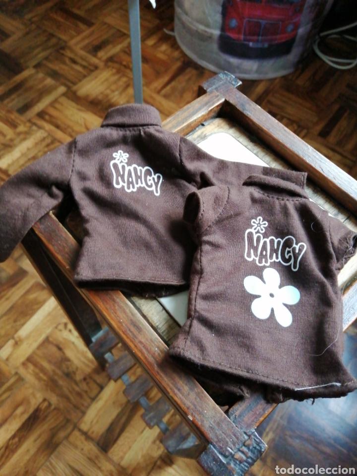 CONJUNTO DE CHALECO Y CHAQUETA NANCY (Juguetes - Muñeca Española Moderna - Nancy y Lucas, Vestidos y Accesorios)