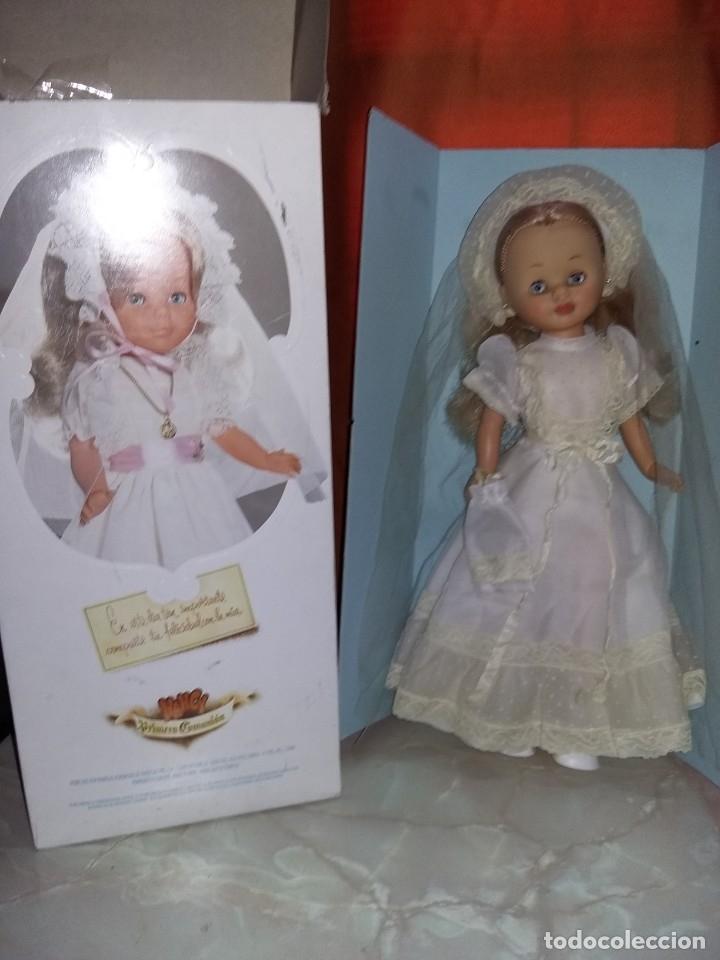 PRECIOSA NANCY DE FAMOSA AÑOS 70 ARTICULADA CARITA DE PORCELANA MUY BUEN ESTADO FOTOS ABAJO (Juguetes - Muñeca Española Moderna - Nancy y Lucas)
