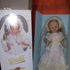 Muñecas Nancy y Lucas: PRECIOSA NANCY DE FAMOSA AÑOS 70 ARTICULADA CARITA DE PORCELANA MUY BUEN ESTADO FOTOS ABAJO. Lote 182046056