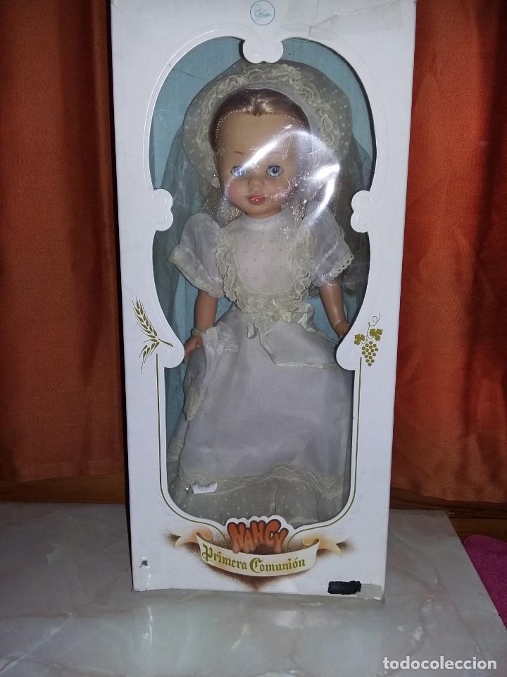 Muñecas Nancy y Lucas: preciosa nancy de famosa años 70 articulada carita de porcelana muy buen estado fotos abajo - Foto 2 - 182046056