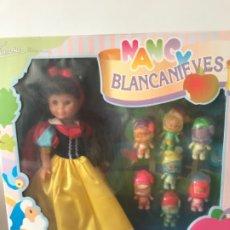 Muñecas Nancy y Lucas: NANCY BLANCANIEVES EN CAJA NUEVA. Lote 183169231
