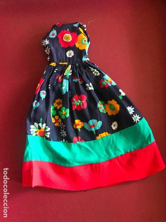 Vestido Fiesta En El Jardin De Nancy Famosa Años 70 Con Defectos
