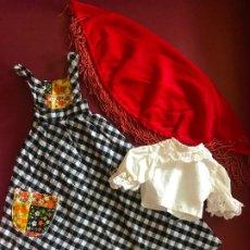 Muñecas Nancy y Lucas: CONJUNTO GATSBY NANCY FAMOSA AÑOS 70 COMPLETO. Lote 183620543