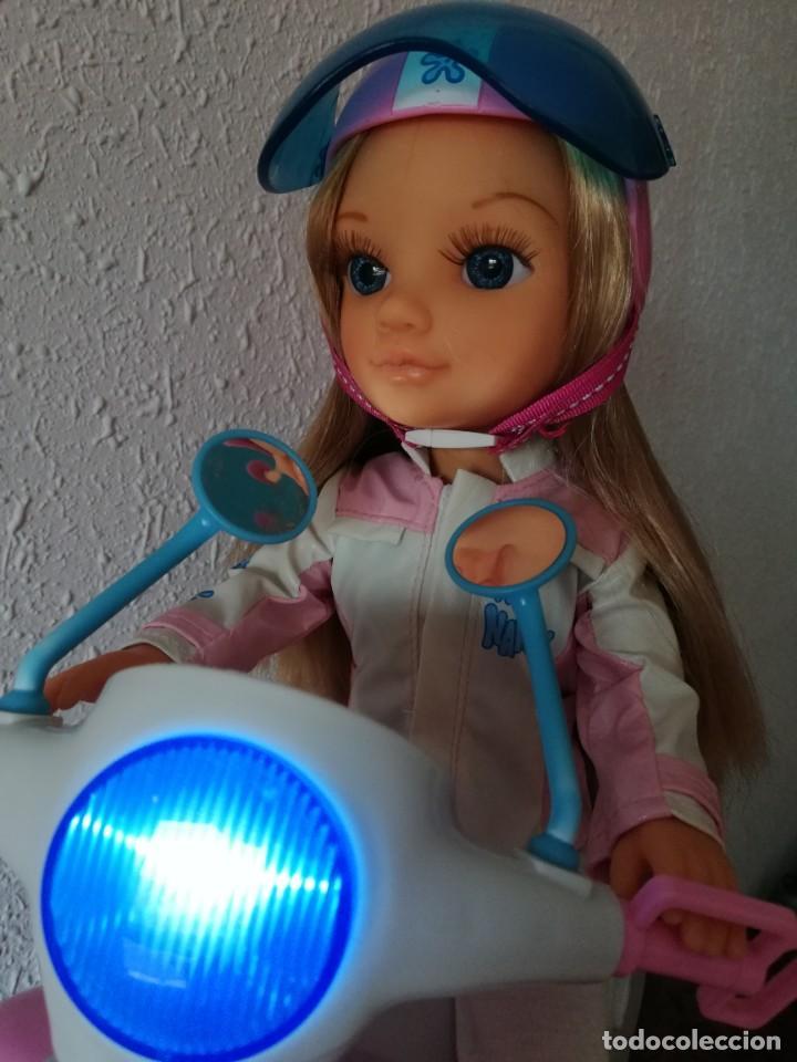 Muñecas Nancy y Lucas: Nancy con su moto - Foto 2 - 184223832