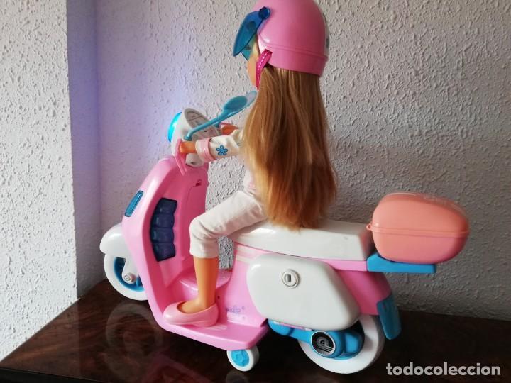 Muñecas Nancy y Lucas: Nancy con su moto - Foto 3 - 184223832