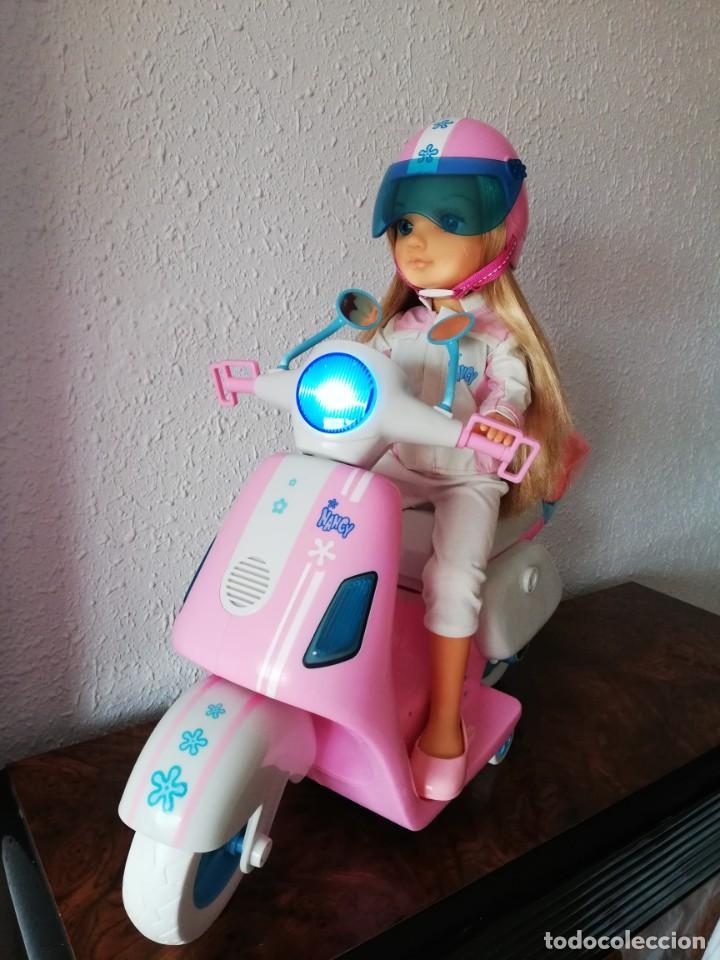 Muñecas Nancy y Lucas: Nancy con su moto - Foto 5 - 184223832