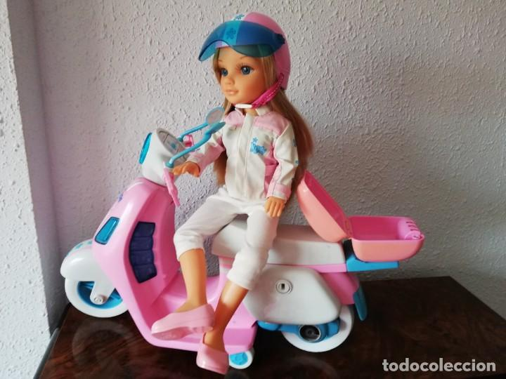 Muñecas Nancy y Lucas: Nancy con su moto - Foto 8 - 184223832