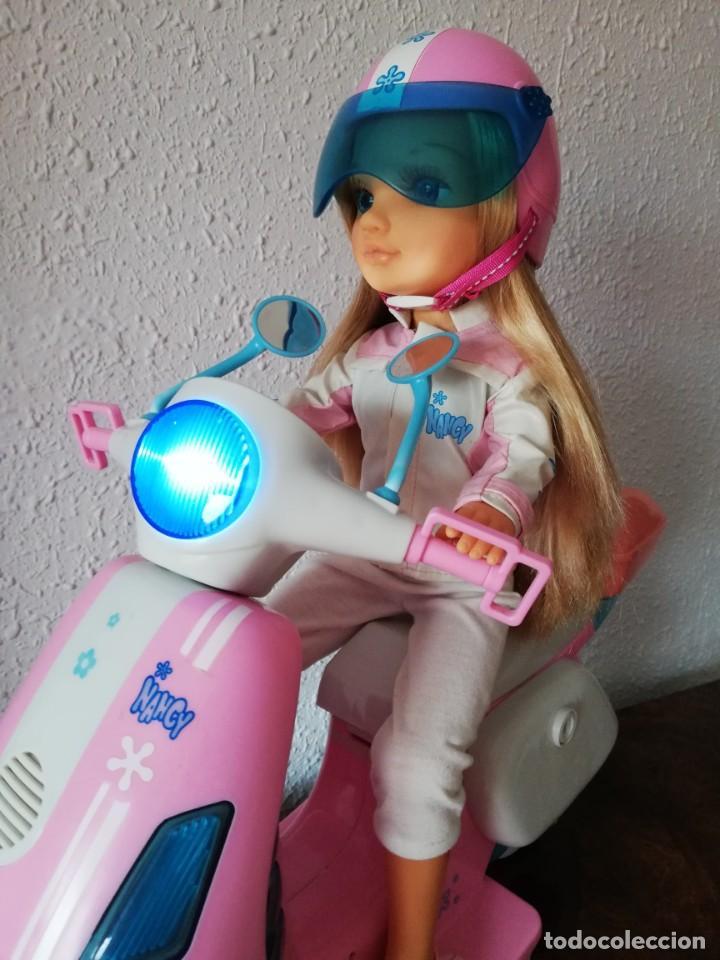 Muñecas Nancy y Lucas: Nancy con su moto - Foto 15 - 184223832