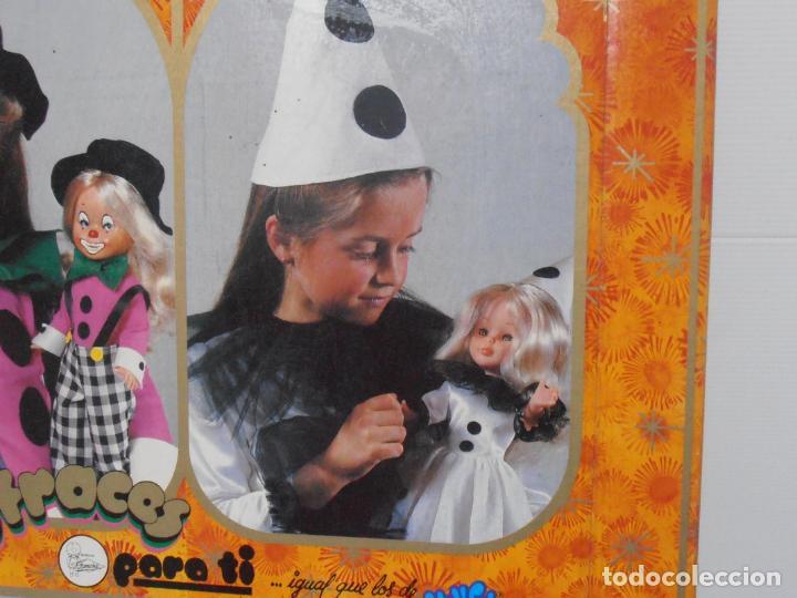 Muñecas Nancy y Lucas: DISFRAZ COLOMBINA NIÑAS NANCY FAMOSA, NUEVO SIN ESTRENAR, ANTIGUA JUGUETERIA, MUY RARO - Foto 3 - 184871308