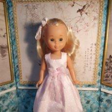 Muñecas Nancy y Lucas: VESTIDO CASERO PARA NANCY. Lote 185357885