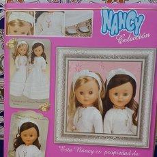 Muñecas Nancy y Lucas: CAJA COMUNIÓN DE NANCY. Lote 189119296