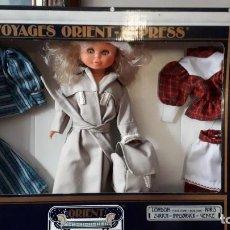 Muñecas Nancy y Lucas: DIFICIL TROUSSEAU ANTIGUA MUÑECA NANCY DAYPA, VIAJES ORIENT EXPRESS. Lote 190392405
