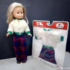 Bonecas Nancy e Lucas: VESTIDO CONJUNTO PARA NANCY MARCA MACLA NUEVO EN SU BLISTER ORIGINAL AÑOS 70. Lote 190775360