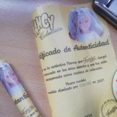 Muñecas Nancy y Lucas: NANCY CERTIFICADO DE AUTENTICIDAD ÚNICO REEDICION NOVIA. Lote 192043957