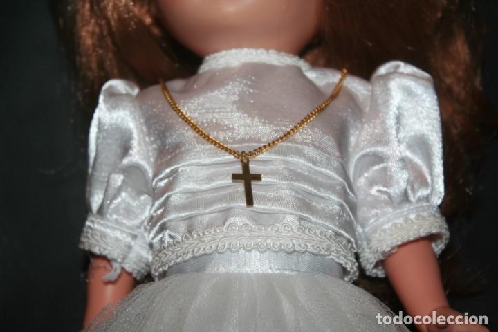 Muñecas Nancy y Lucas: vestido muñeca nancy comunion dificil - Foto 2 - 193242938