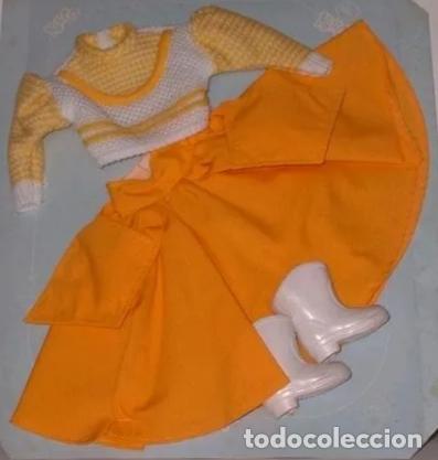 DIFICIL CONJUNTO OCHENTERO DE NANCY (Juguetes - Muñeca Española Moderna - Nancy y Lucas, Vestidos y Accesorios)