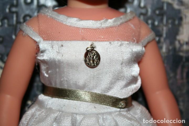 Muñecas Nancy y Lucas: vestido original muñeca nancy comunion - Foto 2 - 193722832
