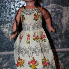 Muñecas Nancy y Lucas: VESTIDO ORIGINAL MUÑECA NANCY FLORES. Lote 193729481