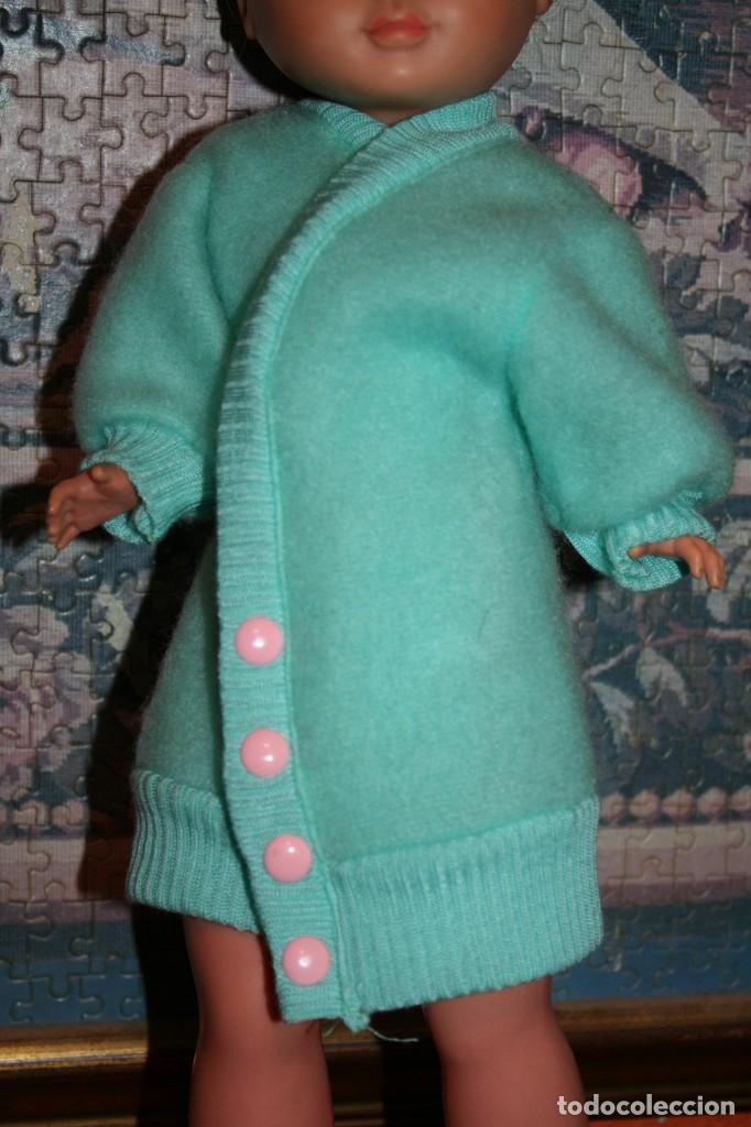 ABRIGO VERDE ORIGINAL MUÑECA NANCY AÑOS 80 90 REFERENCIA 80042 C (Juguetes - Muñeca Española Moderna - Nancy y Lucas, Vestidos y Accesorios)