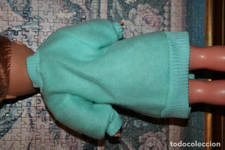 Muñecas Nancy y Lucas: abrigo verde original muñeca nancy años 80 90 referencia 80042 C - Foto 2 - 193913041