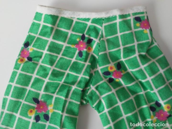 Muñecas Nancy y Lucas: Pantalón del conjunto En el Jardín para Nancy años 70 - Foto 2 - 194333765