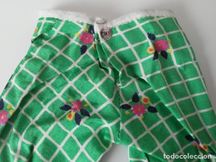 Muñecas Nancy y Lucas: Pantalón del conjunto En el Jardín para Nancy años 70 - Foto 6 - 194333765