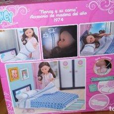 Muñecas Nancy y Lucas: NANCY Y SU CAMA CAJA VACIA . Lote 194373005