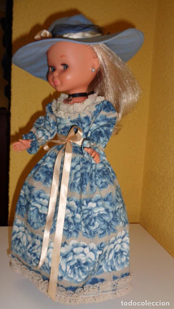 Muñecas Nancy y Lucas: Conjunto Nostalgia azul Nancy Famosa. 1976. En muy buen estado. Original Nancy. - Foto 3 - 194497880