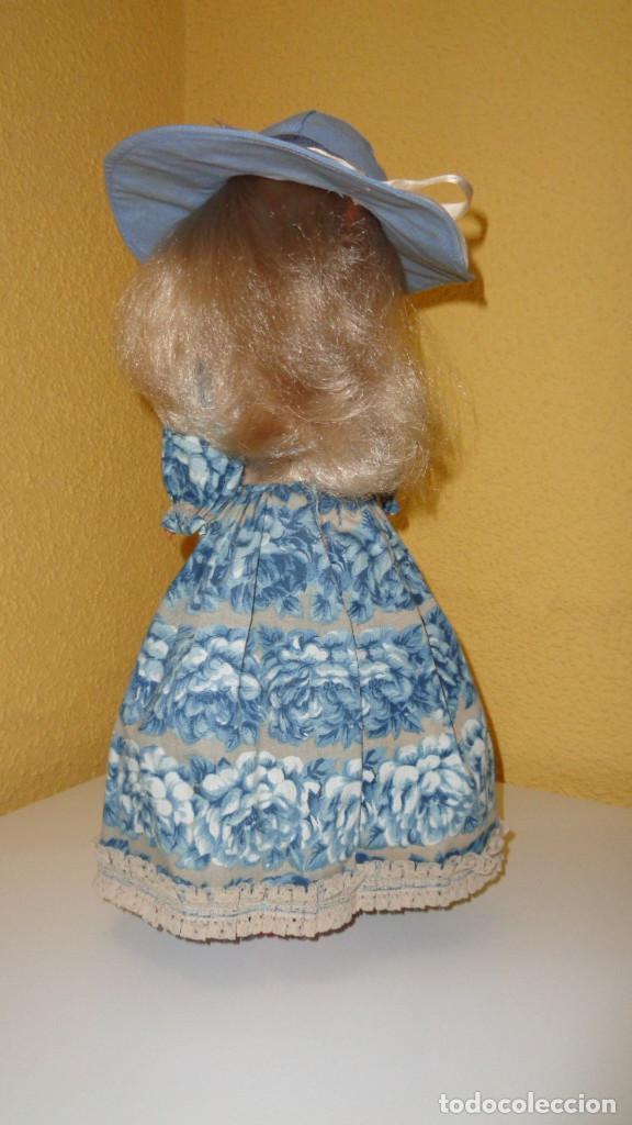 Muñecas Nancy y Lucas: Conjunto Nostalgia azul Nancy Famosa. 1976. En muy buen estado. Original Nancy. - Foto 5 - 194497880