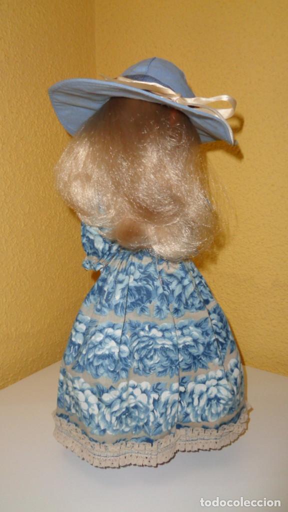 Muñecas Nancy y Lucas: Conjunto Nostalgia azul Nancy Famosa. 1976. En muy buen estado. Original Nancy. - Foto 6 - 194497880