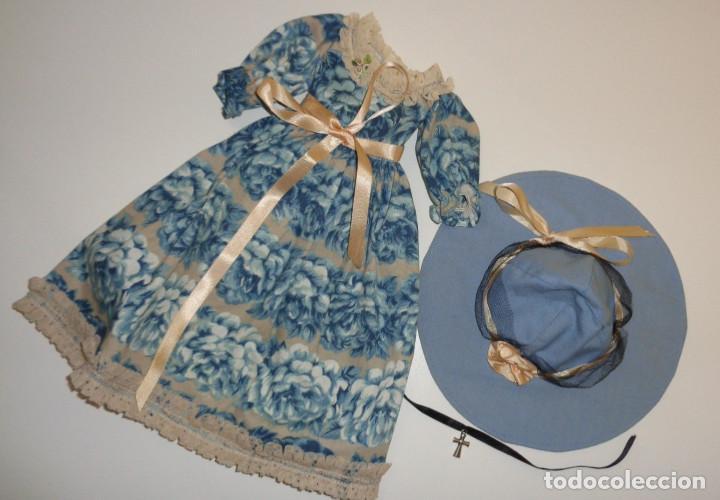 Muñecas Nancy y Lucas: Conjunto Nostalgia azul Nancy Famosa. 1976. En muy buen estado. Original Nancy. - Foto 7 - 194497880