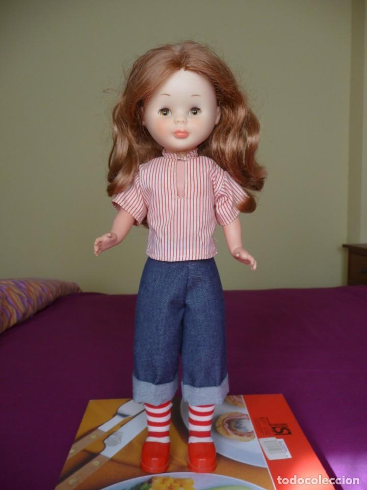 Muñecas Nancy y Lucas: Nancy de famosa articulada pelirroja ojos marron margarita con conjunto picadilly años 70 - Foto 3 - 194894903