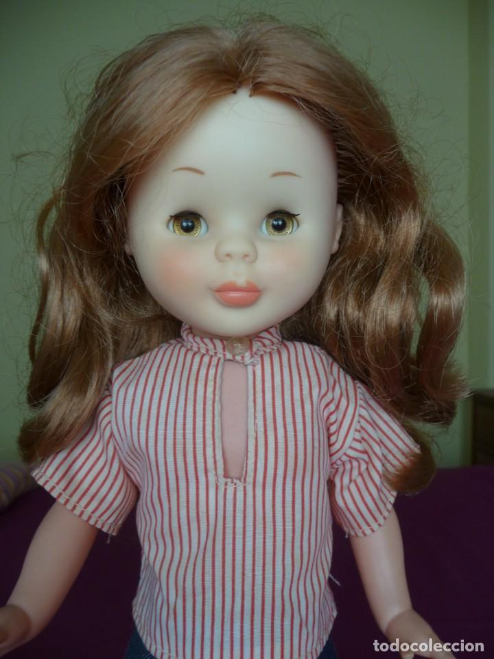 Muñecas Nancy y Lucas: Nancy de famosa articulada pelirroja ojos marron margarita con conjunto picadilly años 70 - Foto 5 - 194894903