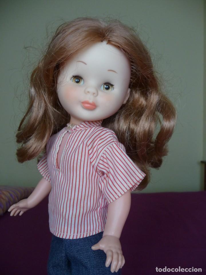 Muñecas Nancy y Lucas: Nancy de famosa articulada pelirroja ojos marron margarita con conjunto picadilly años 70 - Foto 8 - 194894903