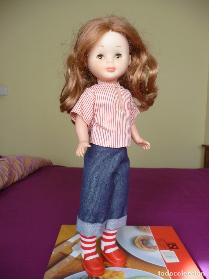 Muñecas Nancy y Lucas: Nancy de famosa articulada pelirroja ojos marron margarita con conjunto picadilly años 70 - Foto 12 - 194894903