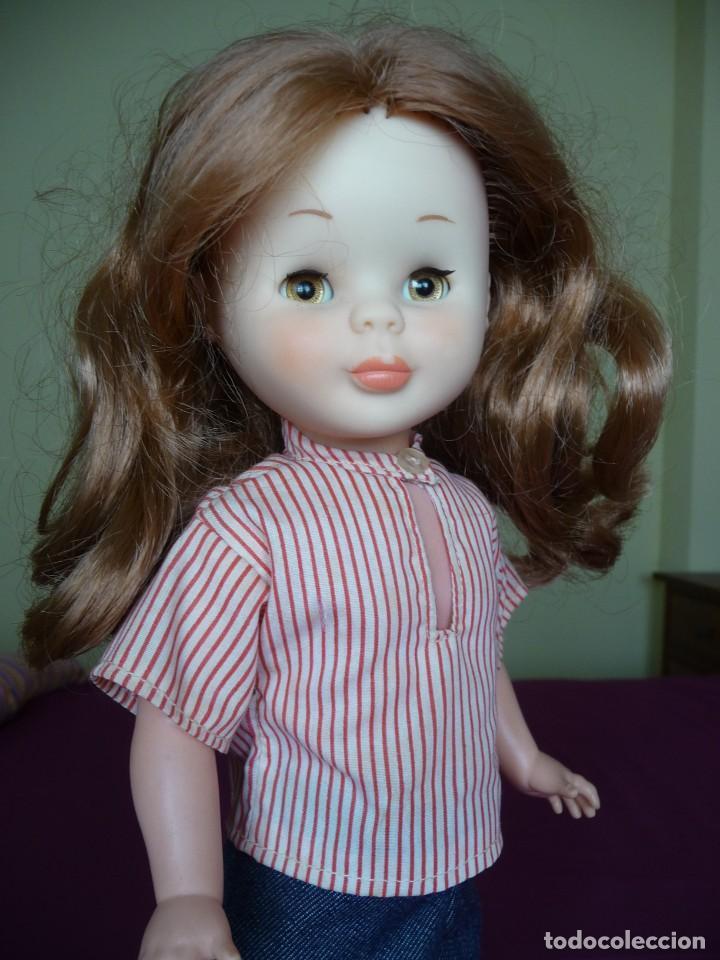Muñecas Nancy y Lucas: Nancy de famosa articulada pelirroja ojos marron margarita con conjunto picadilly años 70 - Foto 14 - 194894903