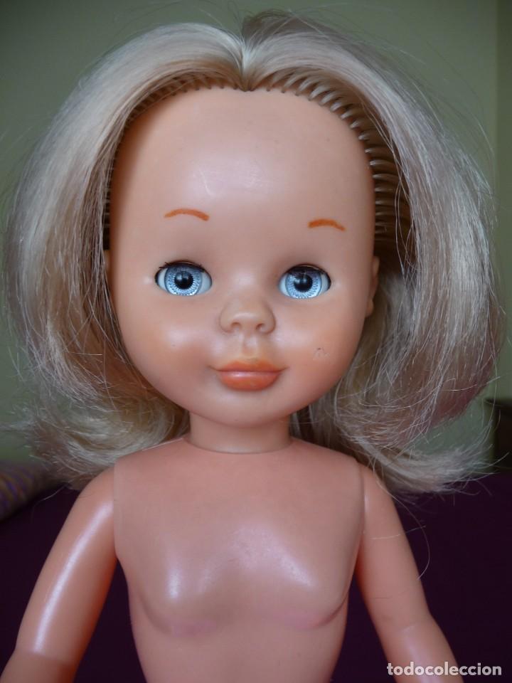 Muñecas Nancy y Lucas: Nancy de famosa rubia ojos azul margarita patabollo de las primeras tobillo ancho años 70 - Foto 4 - 194895023