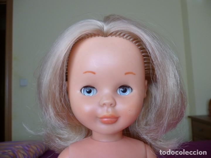 Muñecas Nancy y Lucas: Nancy de famosa rubia ojos azul margarita patabollo de las primeras tobillo ancho años 70 - Foto 5 - 194895023