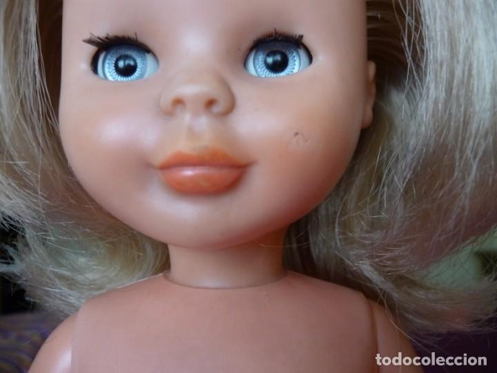 Muñecas Nancy y Lucas: Nancy de famosa rubia ojos azul margarita patabollo de las primeras tobillo ancho años 70 - Foto 6 - 194895023