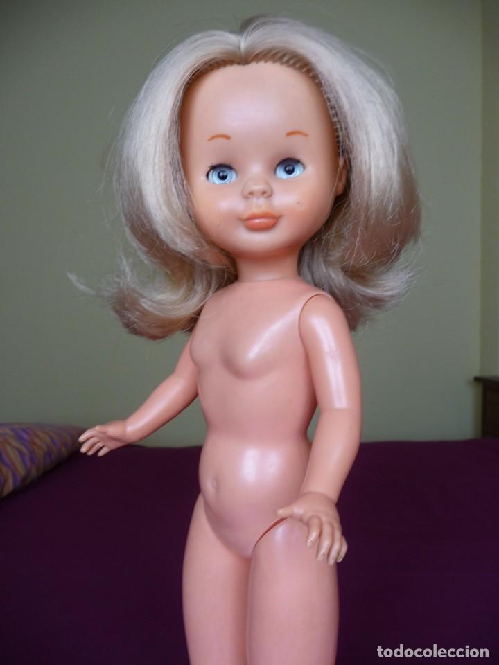 Muñecas Nancy y Lucas: Nancy de famosa rubia ojos azul margarita patabollo de las primeras tobillo ancho años 70 - Foto 8 - 194895023