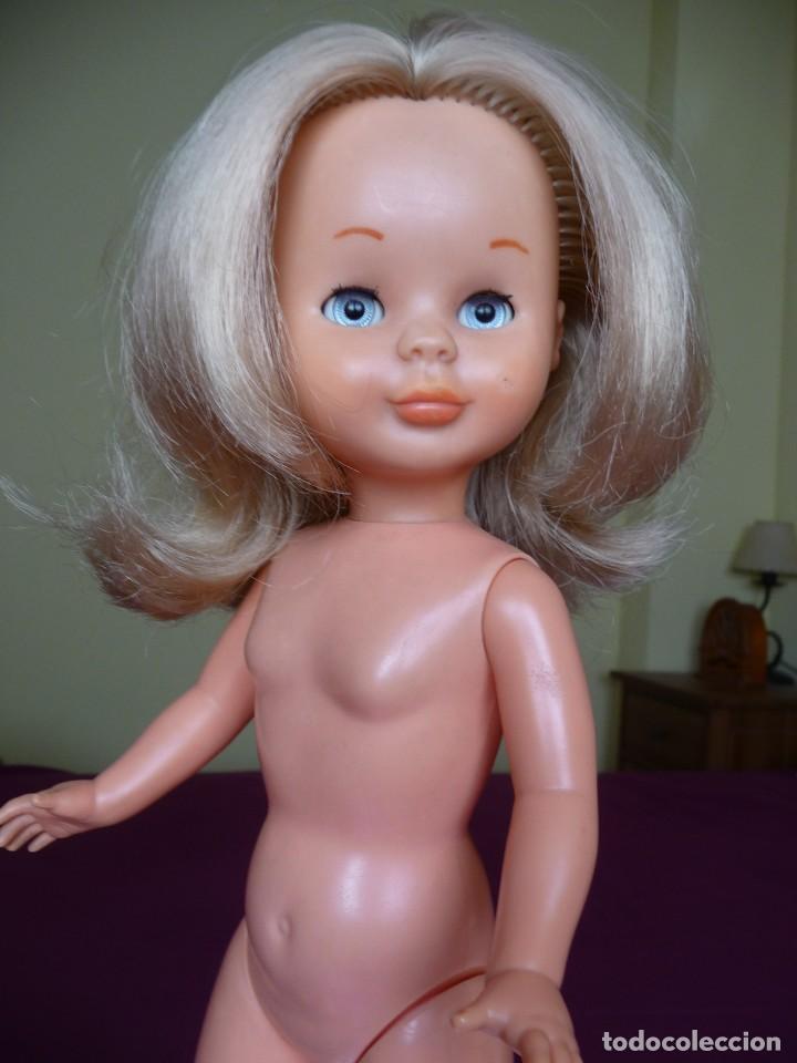 Muñecas Nancy y Lucas: Nancy de famosa rubia ojos azul margarita patabollo de las primeras tobillo ancho años 70 - Foto 9 - 194895023