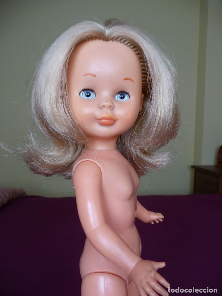 Muñecas Nancy y Lucas: Nancy de famosa rubia ojos azul margarita patabollo de las primeras tobillo ancho años 70 - Foto 11 - 194895023